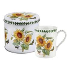 Portmeirion Botanic Garden - Mug And Tin Set  Sunflower