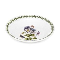 Portmeirion Botanic Garden - Soup Plate Pansy Motif