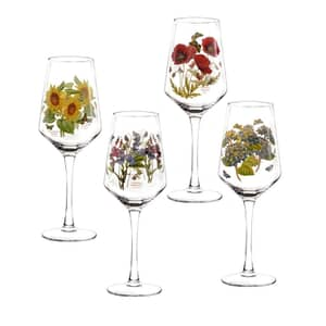 Portmeirion Botanic Garden - Wine Glasses Set Of 4