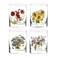 Portmeirion Botanic Garden - Old Fashioned Tumblers Set Of 4