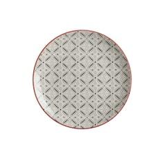 Maxwell and Williams Boho 20cm Plate Batik Grey