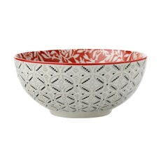 Maxwell and Williams Boho 18cm Bowl Damask Red