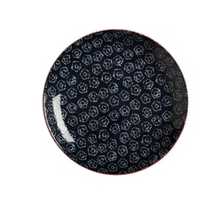 Maxwell and Williams Boho 20cm Plate Shibori Navy