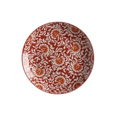 Maxwell and Williams Boho 20cm Plate Damask Red