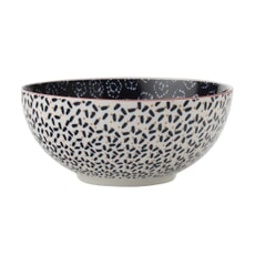 Maxwell and Williams Boho 12.5cm Bowl Shibori Navy