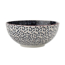 Maxwell and Williams Boho 18cm Bowl Shibori Navy