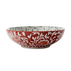 Maxwell and Williams Boho 18cm Coupe Bowl Batik Grey