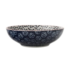 Maxwell and Williams Boho 18cm Coupe Bowl Kiraku Blue