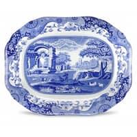 Spode Blue Italian - Oval Platter 16inch