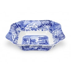 Spode Blue Italian - Square Salad Bowl