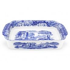Spode Blue Italian - Rectangular Dish Large