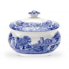 Spode Blue Italian - Sugar Box