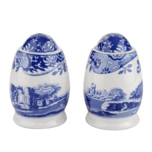 Spode Blue Italian - Salt And Pepper Pots