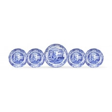 Spode Blue Italian - 5 Piece Bowl Set