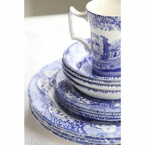 Spode Blue Italian - 16 Piece Dinner Set
