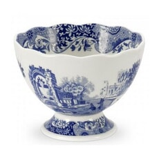 Spode Blue Italian - Footed Dish