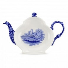 Spode Blue Italian - Tea Bag Tidy