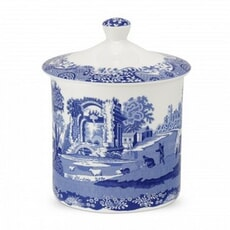 Spode Blue Italian - Storage Jar Large
