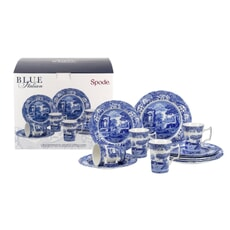 Spode Blue Italian - 12 Piece Box Set