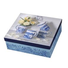 Spode Blue Italian - Set Of 4 Mugs