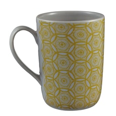 Murmur Japanese Floral Decorative Tall Mug Chartreuse
