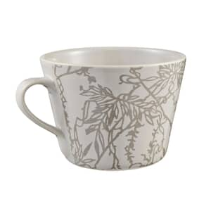 Murmur Etch Decorative Conical Mug Grey