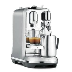Sage The Creatista Plus Nespresso Stainless Steel Coffee Machine BNE800BSS