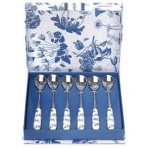 Portmeirion Botanic Blue - Teaspoons Set Of 6