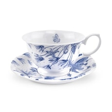 Portmeirion Botanic Blue - Tea Cup And Saucer