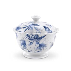 Portmeirion Botanic Blue - Covered Sugar Bowl
