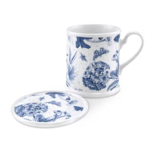 Portmeirion Botanic Blue - Mug And Coaster Set