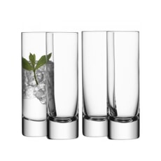 LSA Glassware - Bar Long Drink Glasses Set Of 4