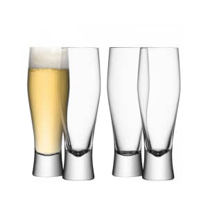 LSA Glassware - Bar Lager Glasses Set Of 4