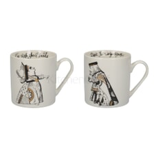 V and A Victoria And Albert Alice In Wonderland Set of 2 His And Hers Mugs