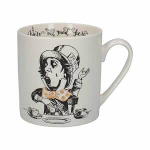 V and A Victoria And Albert Alice In Wonderland Mad Hatter Can Mug