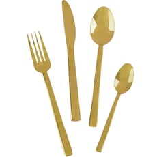 Mikasa Ciara Diseno 16 Piece Cutlery Set - Gold