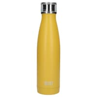 Built 500ml Double Walled Stainless Steel Water Bottle Mustard