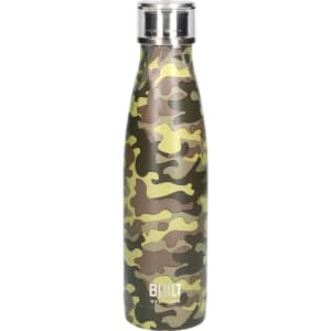 Built 500ml Double Walled Stainless Steel Water Bottle Camo