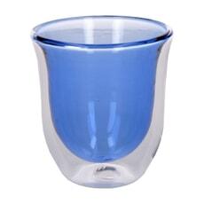 La Cafeti�re Colour Blue Double Walled Glasses