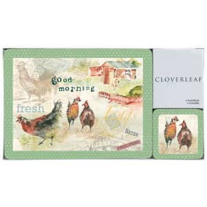Portmeirion Cloverleaf - Home Farm Placemats And Coasters