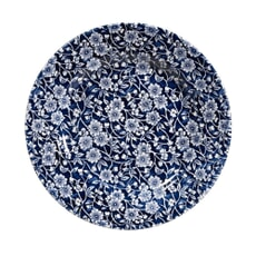 Churchill China Victorian Calico Blue Dinner Plate