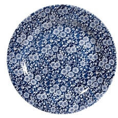 Royal Wessex Victorian Calico Blue Salad Plate Set Of 4