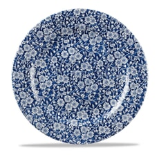 Royal Wessex Victorian Calico Blue Round Platter