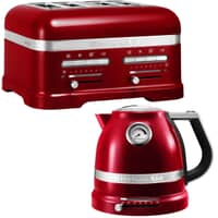 KitchenAid Artisan Kettle And 4 Slot Toaster Candy Apple