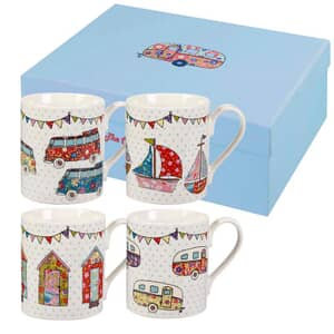 The Caravan Trail Festival Mugs Set Of 4