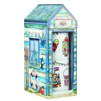 The Caravan Trail Beach Huts Set Of 2 Stacking Mugs