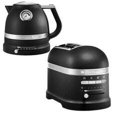 KitchenAid Artisan Kettle And 2 Slot Toaster Cast Iron Black