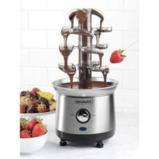 Smart Cascading Fondue Chocolate Fountain Stainless Steel