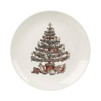 Churchill China Christmas Tree Dinner Plate 26cm