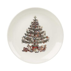 Churchill China Christmas Tree Dinner Plate 26cm